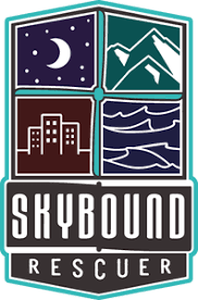 Gemma Alcock, Founder / CEO, SkyBound Rescuer / Director of Air Services, Lowland Rescue logo